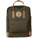 Kanken No.2 dark olive